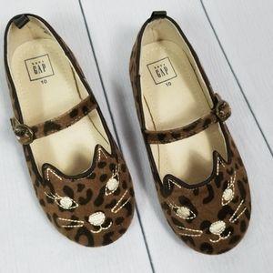 BabyGap leopard print Mary Jane's